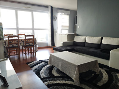 Appartement limite pentagone quartier gare